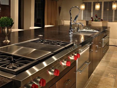 chef kitchen design - home design ideas